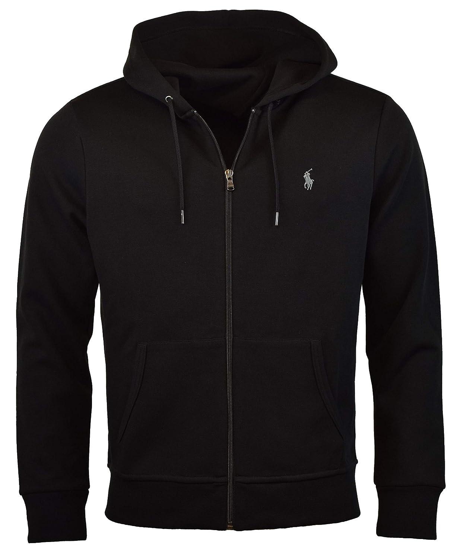 Polo Ralph Lauren Mens Double-Knit Full-Zip Hoodie