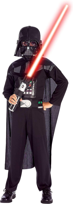 Star Wars Dark Vador Gar/çon-Taille S Rubies-d/éguisement officiel ST-882848S