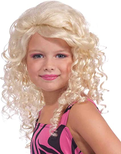 pop star wig
