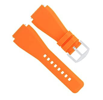 Correa de goma de 24 mm para correa de reloj Sony Smart ...