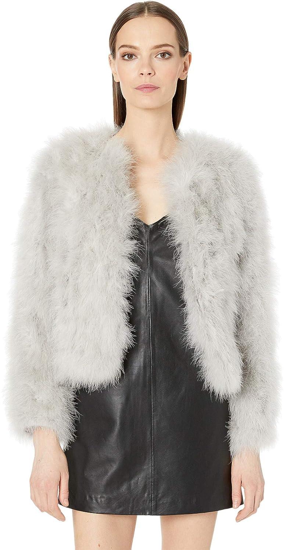 e5e388dbe0b LAMARQUE Women's Deora Feather Jacket at Amazon Women's Coats Shop