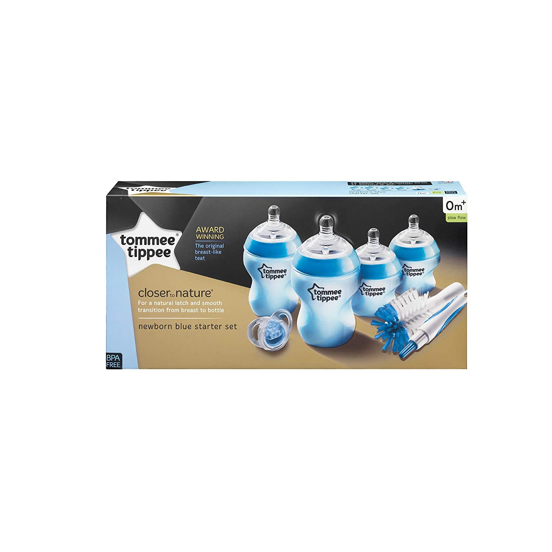 Tommee Tippee - Kit de iniciación para recién nacido, azul