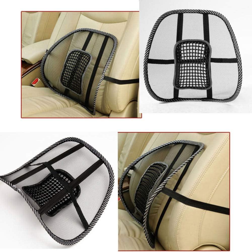 per massaggi in vita auto Cuscino lombare per la schiena Newhashiqi casa per ufficio