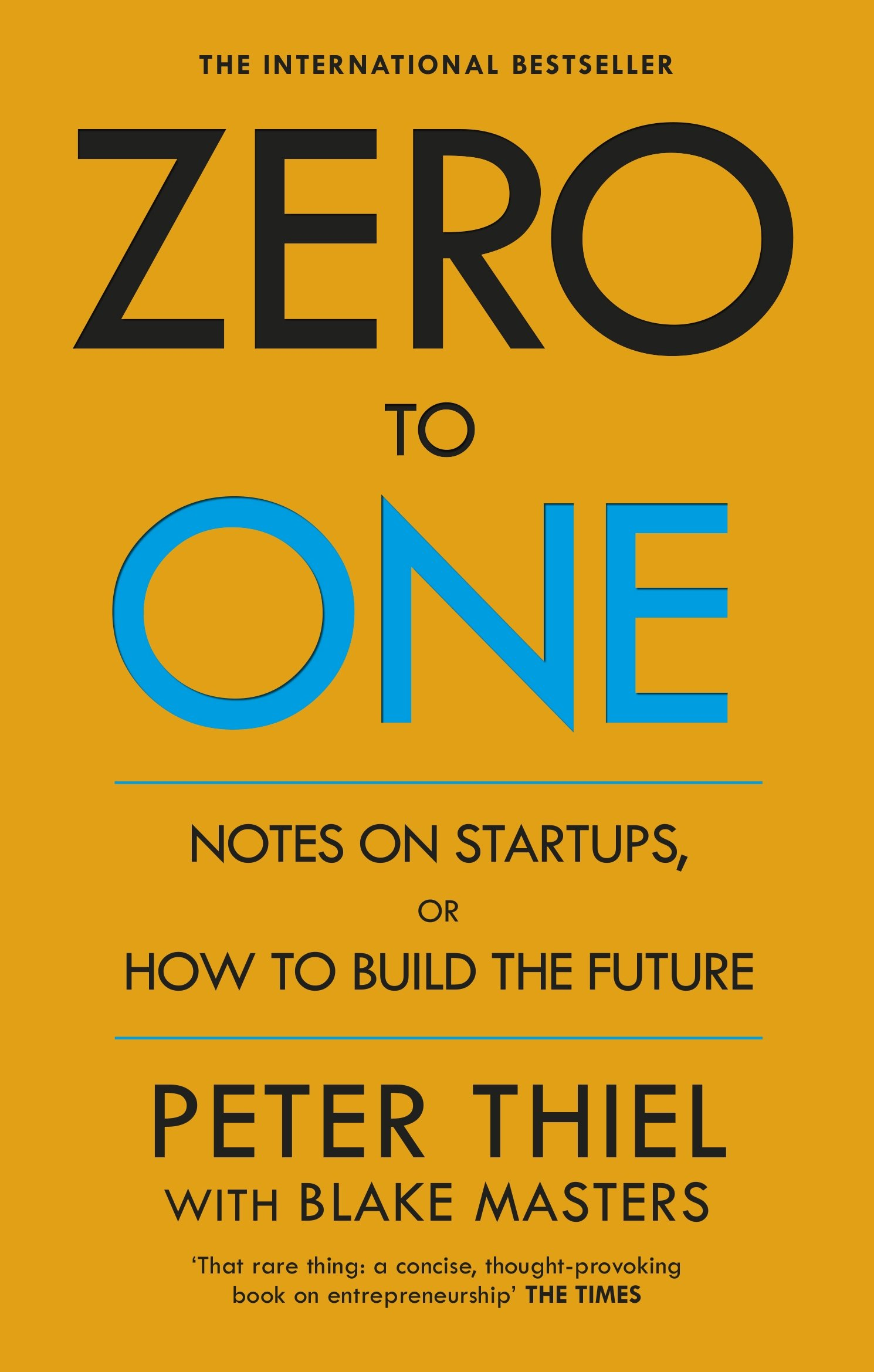 Zero One Notes Startups Future