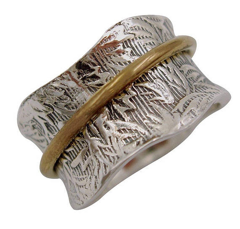 JewelsExporter Sterling Silver Ring.Spinner Ring Spin-Pray Ring6us Meditation Ring