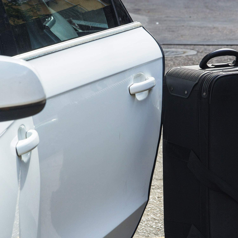 YIJINSHENG Car Door Edge Guard 16ft U Shape Edge Trim Rubber Seal Protector Car Protection Door PVC Plastic Edge Fit for Most Cars