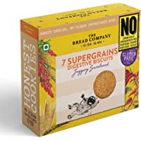The Bread Company Gluten Free Seven Supergrains Digestive Biscuits (Jaggery Sweetened)