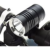 Bike Light, ThorFire BL01 Bike Light, LED Bicycle Light Set 800 LM Bike Headlight with Free 5 LED Taillight Rear Light 8800mAh Battery Pack for Max 57H Cycling Heavy Rain IPX7 Waterproof