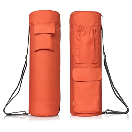 64a3dd2c8b42 Amazon.com   Yoga Mat Bag by NewK Yoga - Full Zip