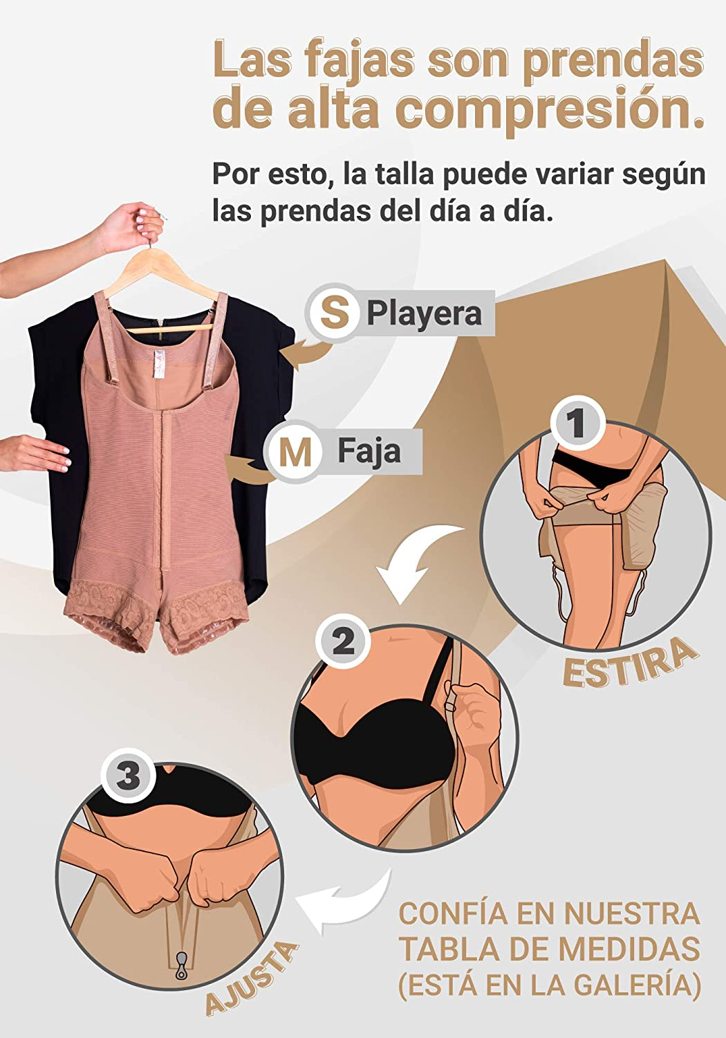 Fajas Colombianas Sonryse Slimming Tummy Control Shapewear for Women