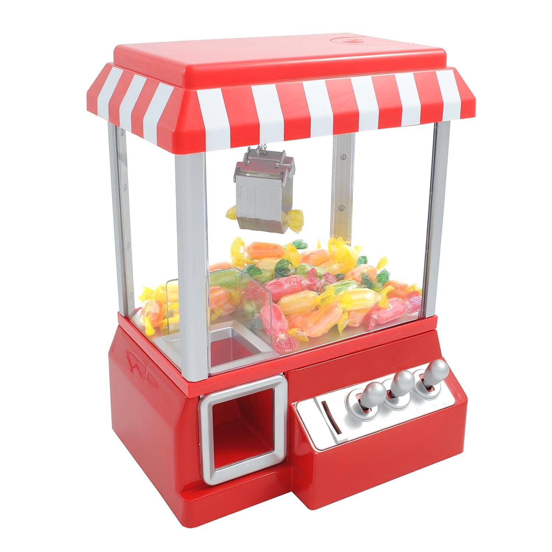 Bunkerbound Limited CANDYGRABBER - Dispenser caramelle a forma di gioco pinza cattura oggetti lunapark