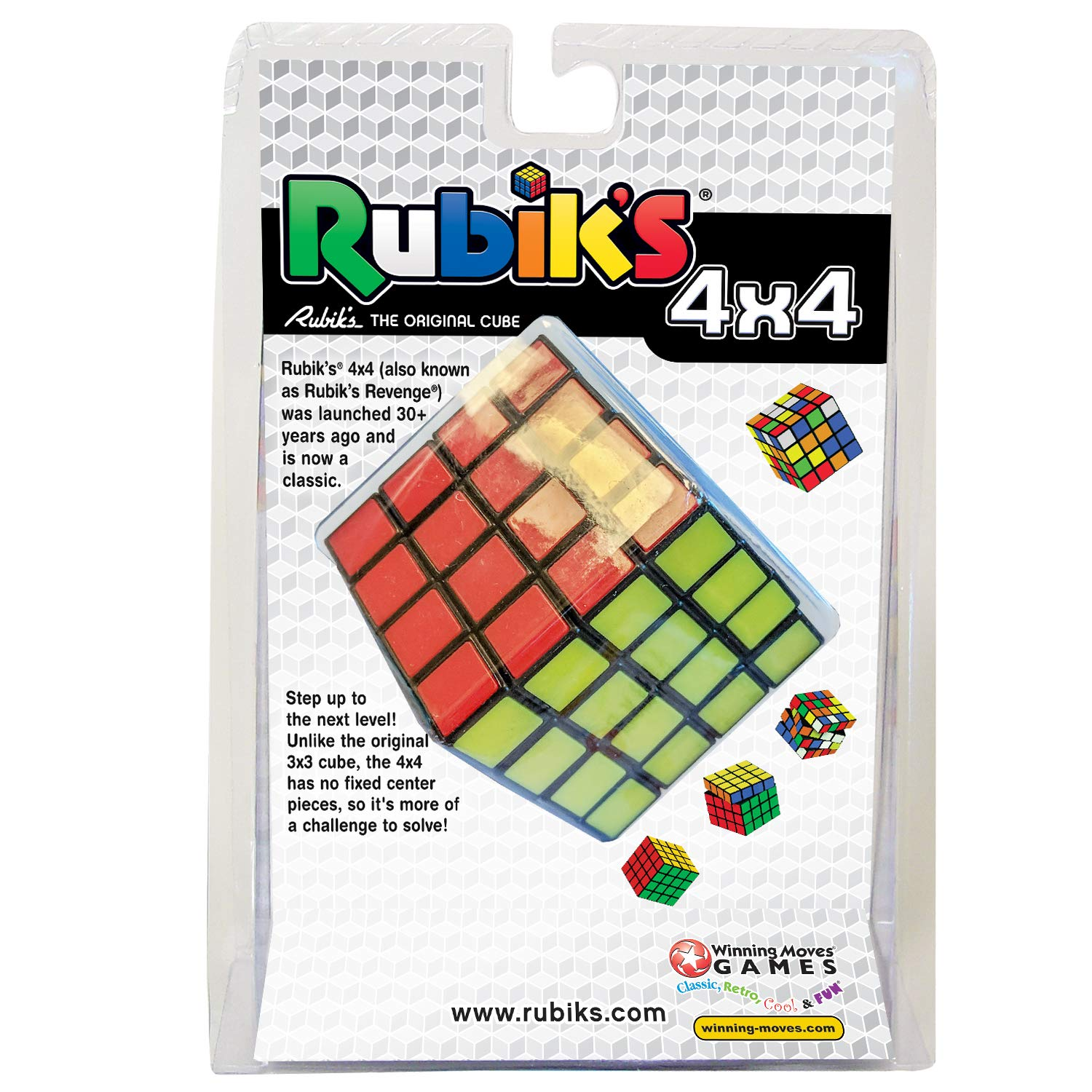 74b45ad15 Amazon.com  Winning Moves Games Rubik s Cube 4x4  Toys   Games