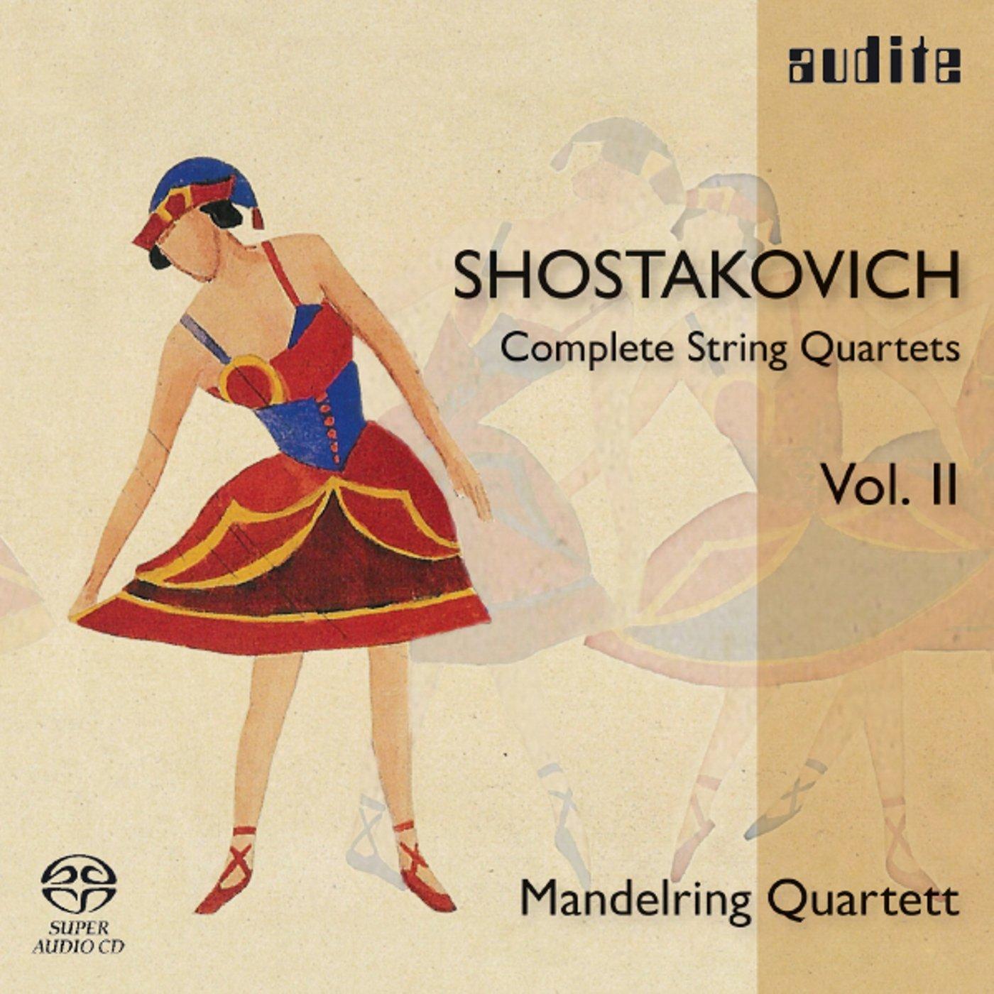 SHOSTAKOVICH / MANDELRING QUARTET