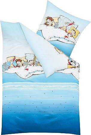 Kaeppel Biber Bettwäsche Kinderbettwäsche Jungen Pyjamaparty
