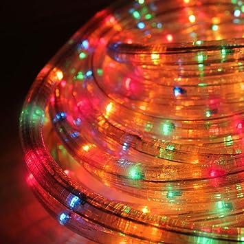 Chaser Christmas Lights.Benross The Christmas Lights 20m Chaser Rope Light Multi Coloured