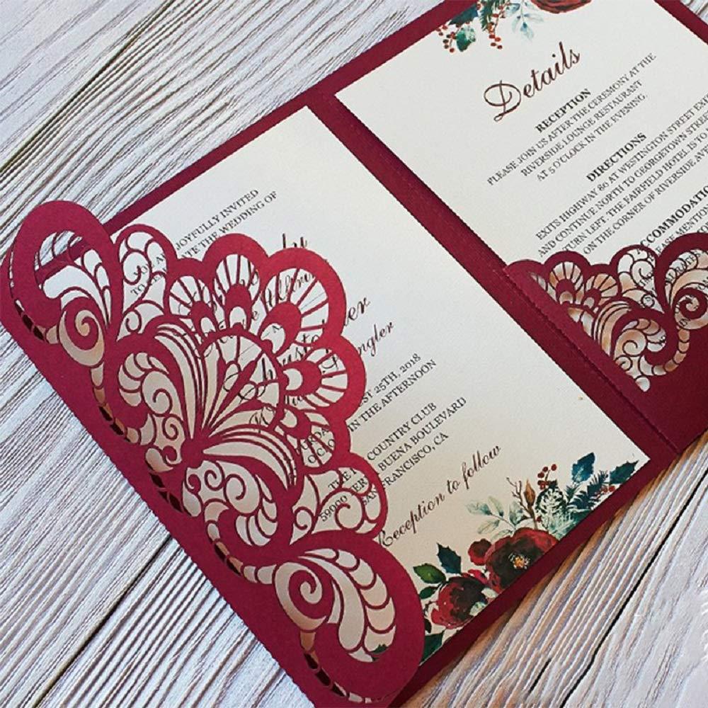1 1PCS Wedding Invitation Lace Dies Metal Cutting Dies Scrapbooking Stamps and Dies for Card Making Craft Dies Cut