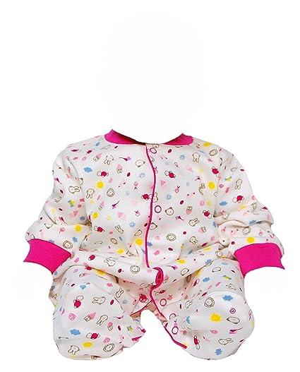 OKY bebé pijama para bebé con pie traje de baño de manga larga All over impresión