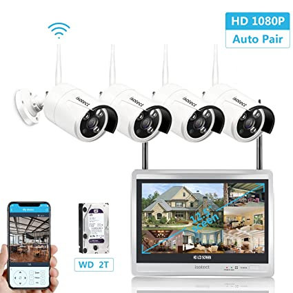expandable systemall in one with 125 inch monitor home video surveillance system - Home Video Security Systems