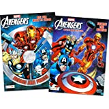 Marvel Mighty Avengers Coloring and Activity Book Set (2 Books ~ 96 pgs Each)