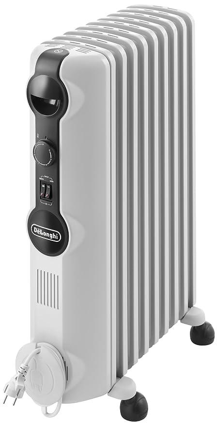 DeLonghi TRRS 0920 Calefactor, Radiador, Interior, Giratorio, ajustes de termostato, 9
