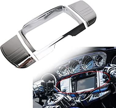 Tri-Line Stereo Trim Cover For Harley Touring Street Electra Tri Glide 2014-2019