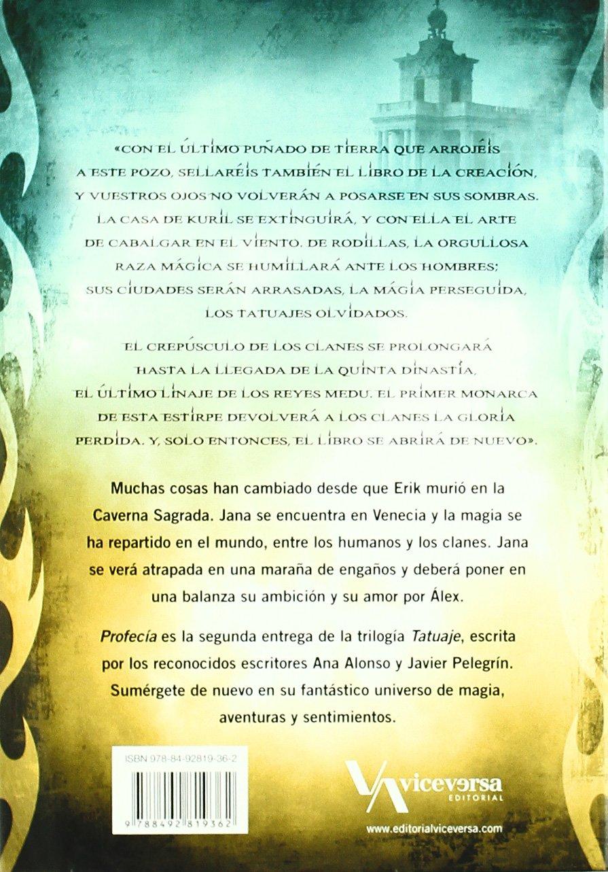 Profecía: Tatuaje II (Viceversa juvenil): Amazon.es: Alonso, Ana ...