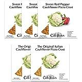 Cali'flour Foods Cauliflower Pizza Crust, Low Carb Variety Pack Option 2, 10 crusts per bundle!!!
