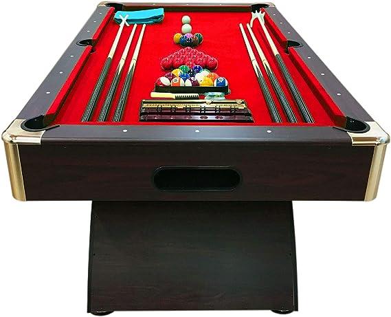 Mesa de billar juegos de billar pool 8 ft carambola FULL Medición ...