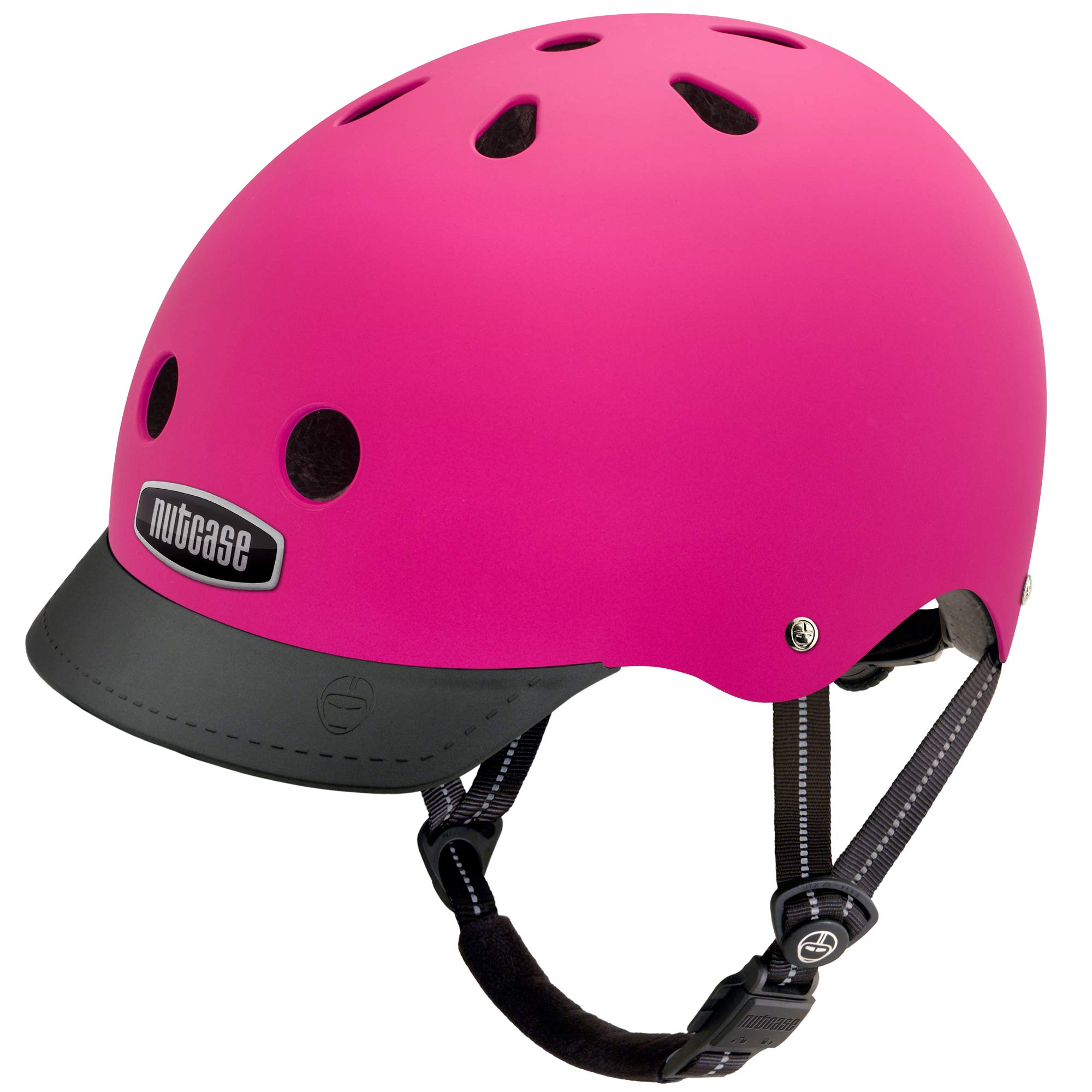 Nutcase Little Nutty MIPS Helmet - Kids' Pink Bubbles Matte, XS