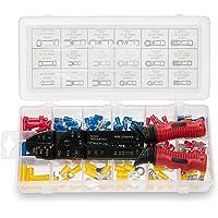 Neiko Terminais e conectores isolados 50413A | Inclui desencapador de fios, cortador e ferramenta de crimpagem 3 em 1…