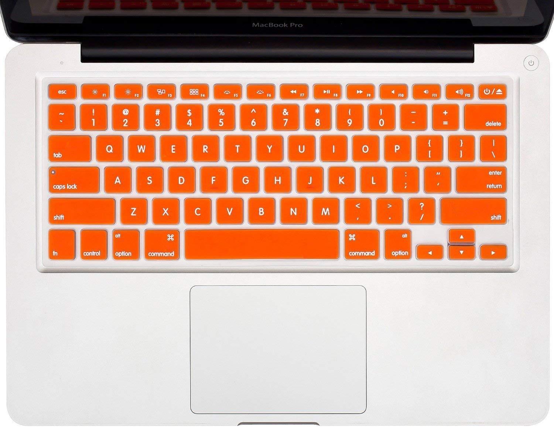 SL ORANGE Keyboard Cover Skin for NEW Macbook Pro 13 15