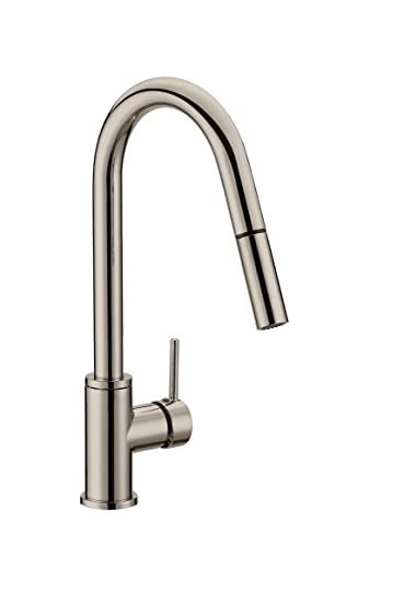 Buy Design House 548305 Eastport Pull Down Kitchen Faucet Satin Nickel Online At Low Prices In India Amazon In