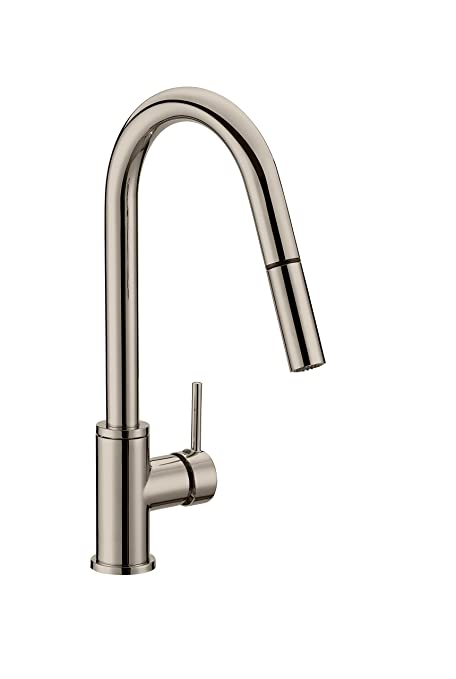 beautiful Design House Kitchen Faucet Part - 4: Design House 548552 Eastport Pull-Down Kitchen Faucet, Satin Nickel
