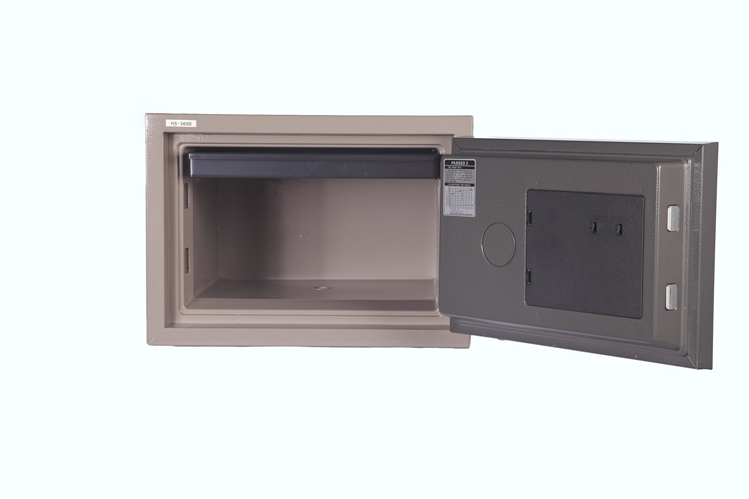 Hollon HS-360E 2 Hour Fire Proof Electronic Home Safe by Hollon