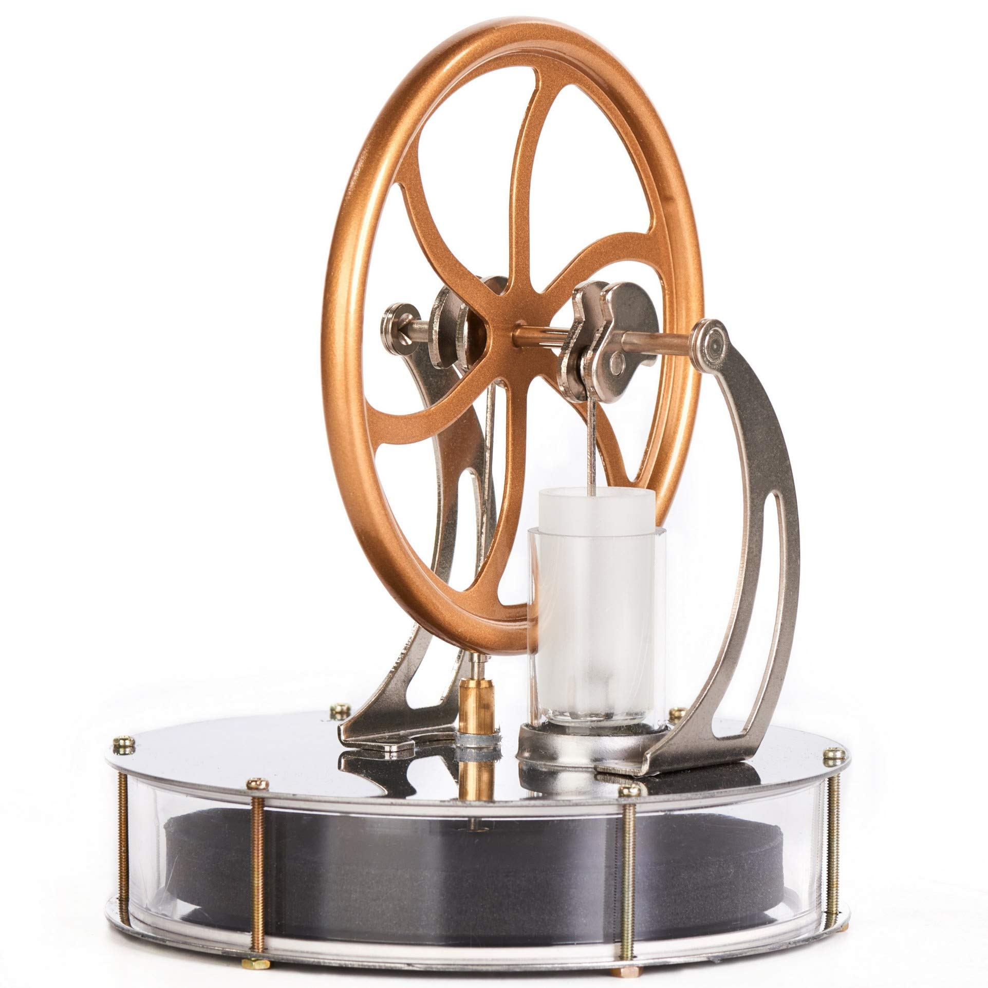 Sunnytech Low Temperature Stirling Engine Motor Steam Heat Education Model Toy Kit (LT001) by Sunnytech (Image #4)