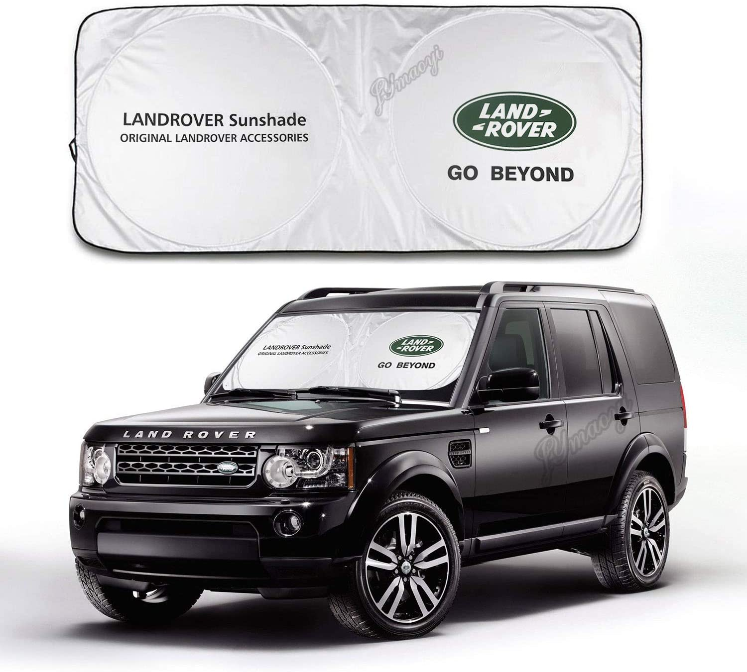 JYMAOYI for Land Rover Sunshade Windshield Visor Cover Car Window Sun Shade UV Protect Car Window Film for Most Land Rover Discovery Sport Evoque Freelander LR2 RangeRover Sport Velar