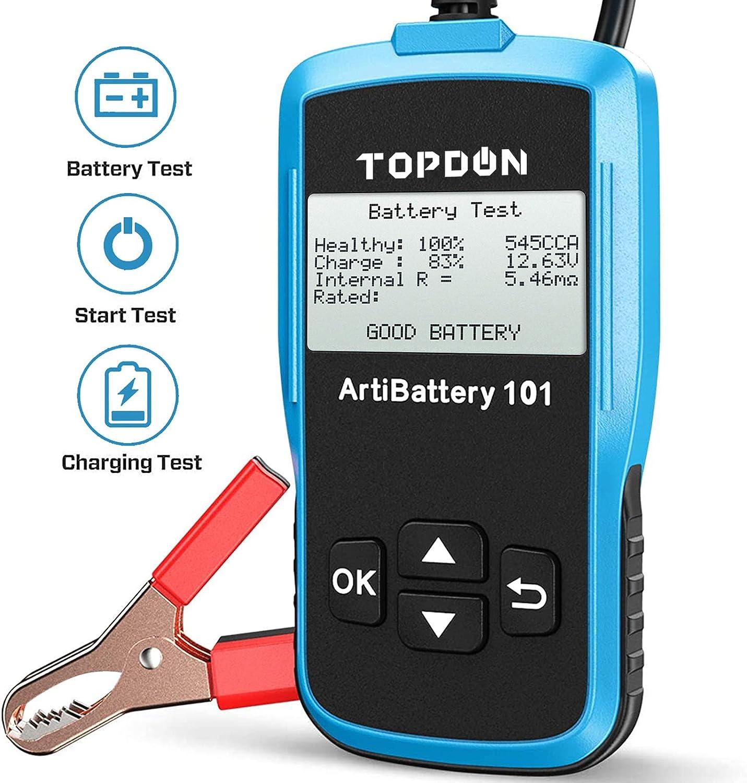 TT Topdon汽车电池测试仪