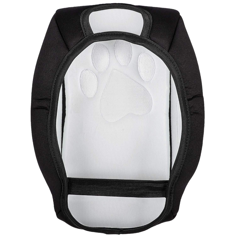 wen wen top Danti Center Console Armrest Pad Cover Neoprene Protector Cushion Car Seat Storage Organizer for Jeep Wrangler JL 2018 Dog Paws