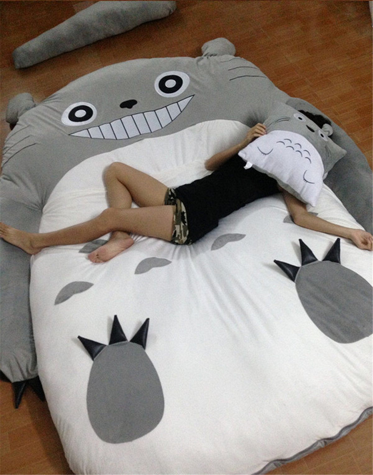 HOT SALE Children's and Adult Totoro Design Big Sofa Totoro Bed Mattress Sleeping Bag Mattress by VU ROUL (Image #5)