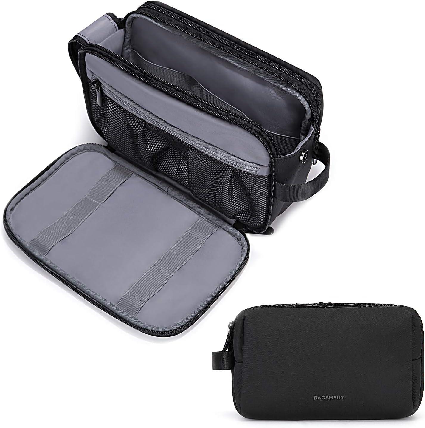BAGSMART Travel Toiletry Organizer Dopp Kit