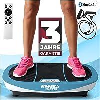 Miweba Sports Fitness 3D Vibrationsplatte MV200-3 Jahre Garantie - 3 Vibrationsmodi - Horizontal - Vertikal - Oszillierend - 400 Watt