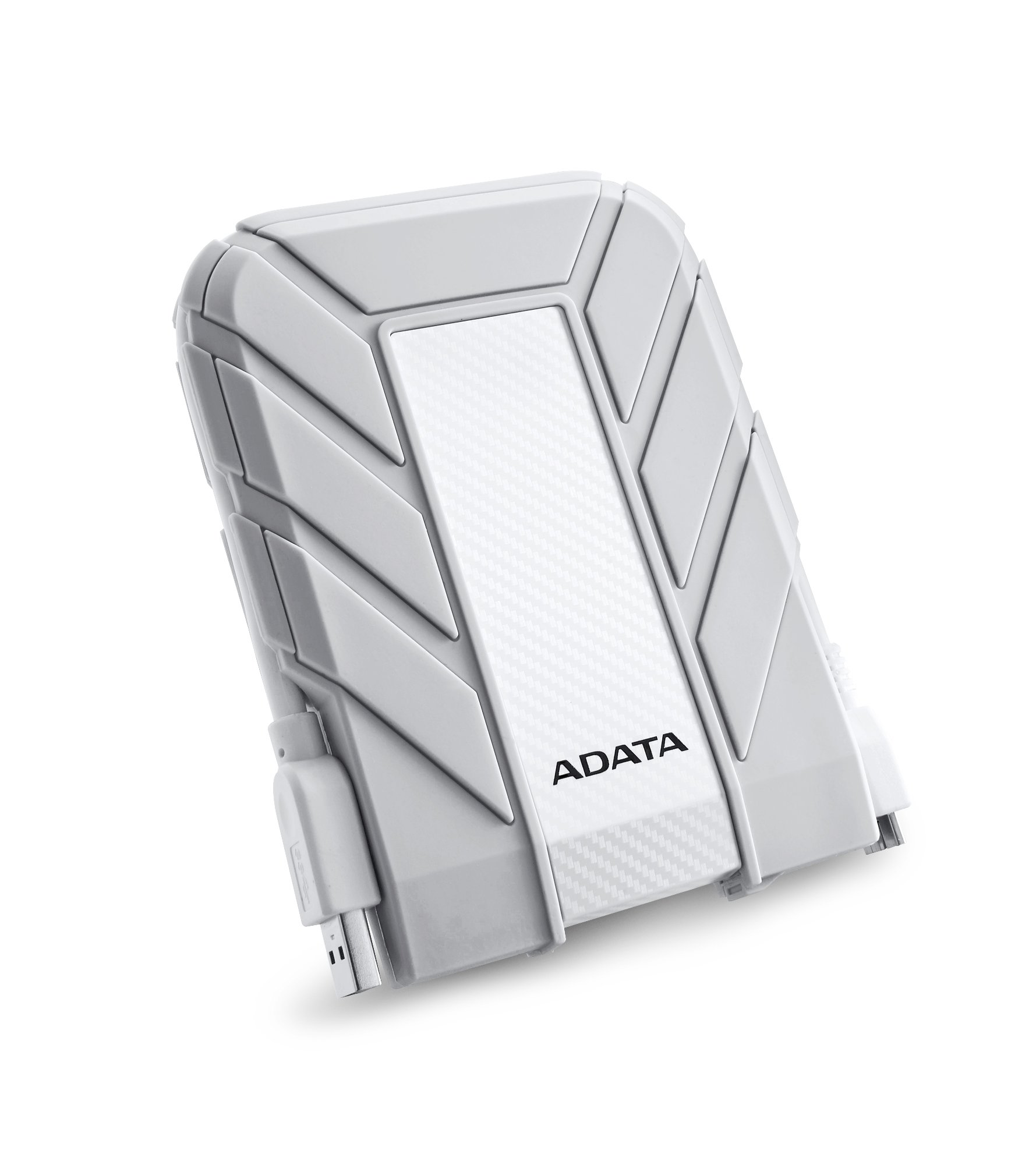 ADATA HD710A 2TB USB 3.0 Waterproof/ Dustproof/ Shock-Resistant Exlusive for Mac External Hard Drive, White (AHD710A-2TU3-CWH) by ADATA (Image #2)