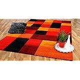 Lalee Moderner Designer Swing Teppich Flachflor Farbverlauf Design