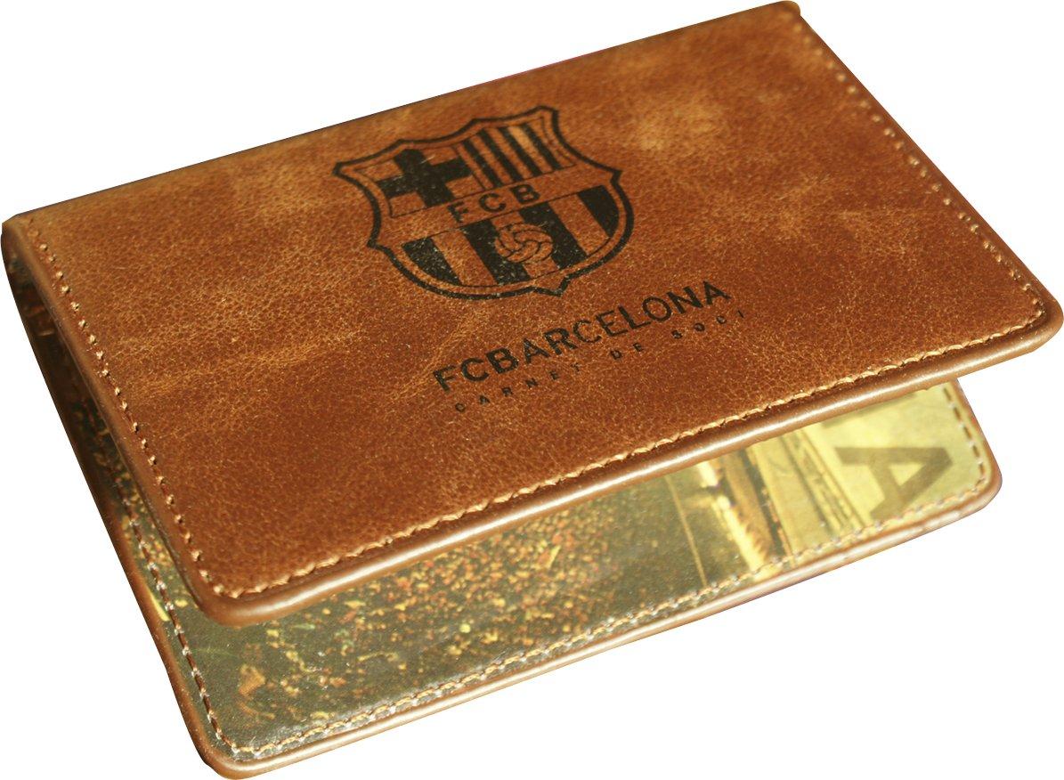 Barcelone-Porte-carte de cr/édit en cuir