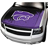 NCAA Kansas State Auto Hood Cover, One Size, One