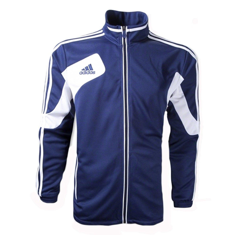 Adidas Youth Condivo 12サッカートレーニングジャケット(ネイビー/ホワイト) B007SYH6USYM