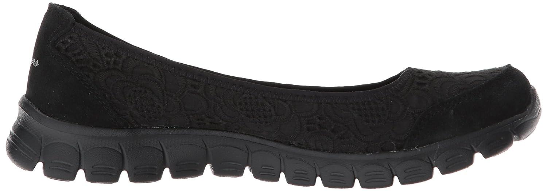 Skechers Women's Ez Flex 3.0-Be You Sneaker B078YRFRCF 9 B(M) US|Black