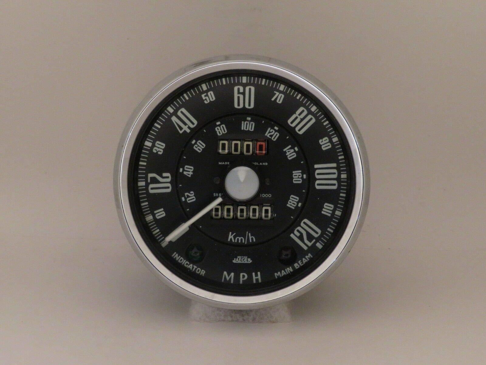 EPC Speedometer 120MPH Jaeger Brand Fits Sunbeam Alpine Series 2 SN6117/11 by EPC