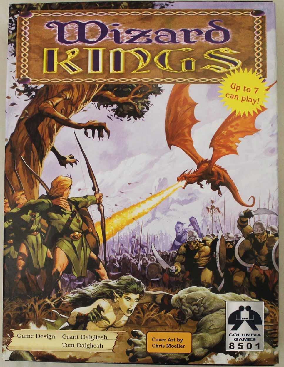 Wizard Kings 2nd Edition [importado de Inglaterra]