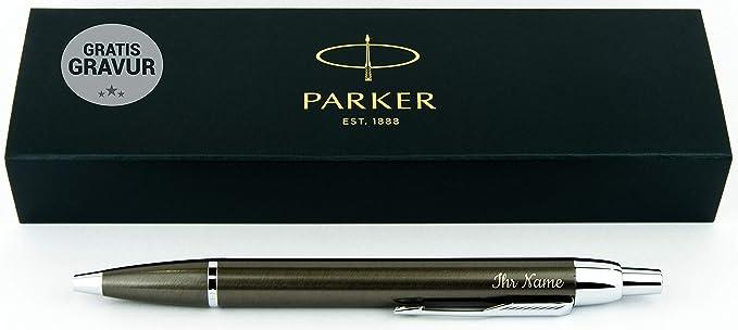 Parker Geschenkfreude IM Kugelschreiber mit Gravur Geschenk hochwertig/bestandene Prüfung Geschenk/personalisierte Geschenke/
